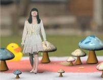 Mushroom (mix media)