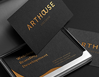 ARTHOUSE - Logo & Business Card