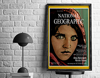 ILLUSTRATION: redesign of National Geographic cover