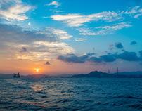 Hong Kong sky