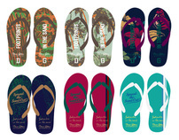Spread the sand Flip Flop n Towel set