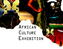 African Exhibition Logo Design