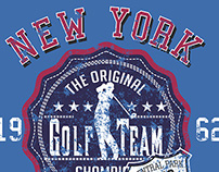 NEW YORK GOLF ACADEMY VECTOR ART