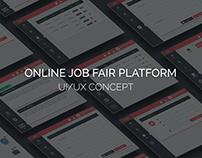 Online job fair platform