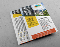 Brochure for Travel Agency