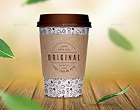 Coffee Paper Cup Mockup / Take Away Cup Mock up