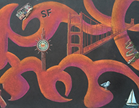 San Francisco Abstract Form