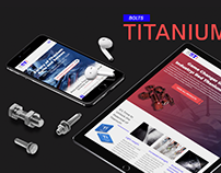 Titanium Bolts Website