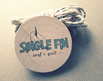 Single Fin Bar & Grill Logo