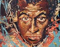 Miles Davis Paint