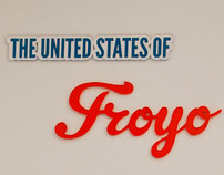 The United States of Frozen Yogurt