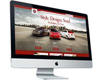 Fiatusa.com Website Design