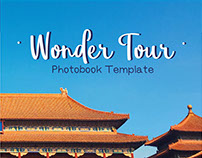 Wonder Tour, Photobook Template