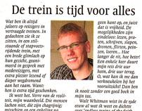 Column | Wedstrijd Noord-Hollands Dagblad en NS