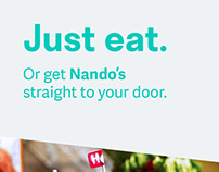 Deliveroo - Just eat.