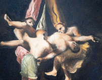 Witches in the Air (after Francisco Goya)
