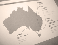 Uni Institutional Links with Australia Diagram Map