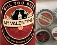 Will You BEER My Valentine? Party Invitation