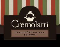 Propuesta web para Cremolatti