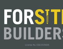 ForSite Builders Logo & Businesss Card