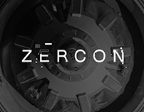 Zercon - animated typeface
