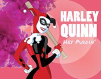 Classic Harley Quinn Illustration