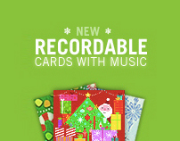 Hallmark Recordable Cards