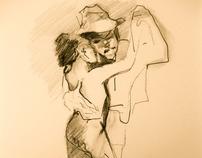 """""""Tango"""" Drawings by SAVIO"""