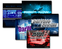 Various Power Point Title Slides and Event Themes