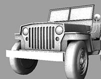 3D Model - Jeepney