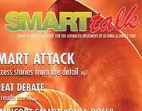 "AstraZeneca ""Smart Talk"" Mock Magazine Cover"