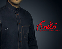 Finito Cloth logo identity