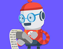 Animations of Everbot Character