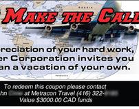 Trader Corporation Travel Voucher