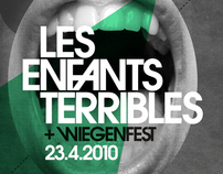 LES ENFANTS TERRIBLES FLYER DESIGN