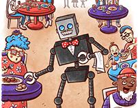 """Renton the Robot"" Page 1"