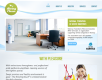 Site template for cleaning services