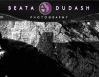 Web site design for Beata Dudash photographer