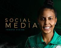 Social Media - Tábata Vieira | Palmeiras