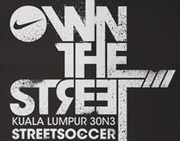 OWN THE STREET | 3ON3 STREET SOCCER