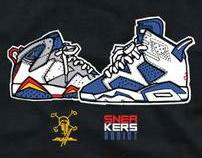 Sneakers Addict x Kwills t-shirt designs