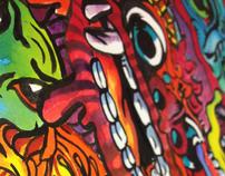 Ravana Rojak Textile Design