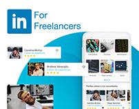LinkedIn For freelancers