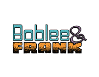 Boblee & Frank Animated Series Logo