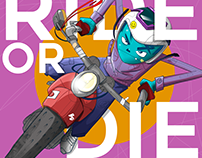 Ride Or Die / Illustration