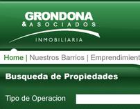 Diseño web para Grondona & Asociados