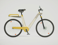 Mobi bicycle rental