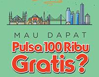 "poster #kumparanGiveaway QUiz ""Tebak Nama Kota"""