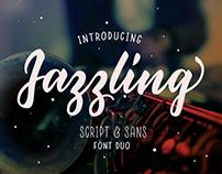Jazzling Script & Sans Font Duo