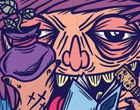 Ilustracion para Revista Zipper x Simplevector